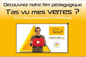 """""""Tu as vu mes verres ?"""" avec Jamy Gourmaud et Mont Royal."""